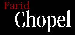 Logo Farid Chopel